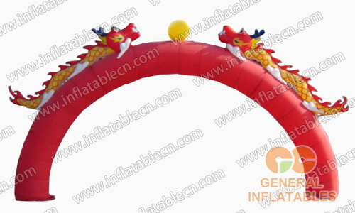 Chinese featured arches