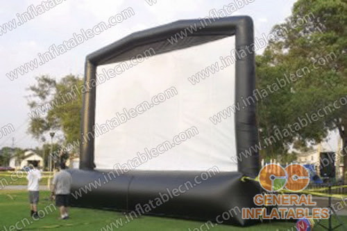 Inflatable film screen for sale