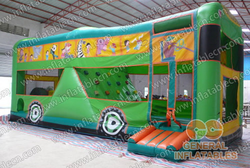 Inflatable Bus bouncer