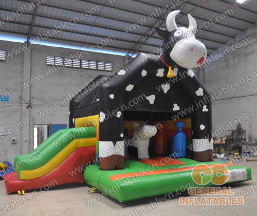 Cow combo with slide