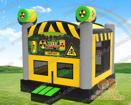 Toxic inflatable jumper