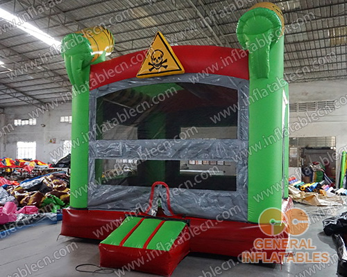 Toxic nuclear inflatable jumper
