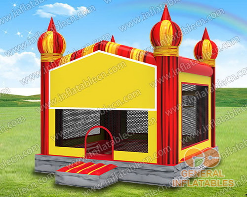 Red marble Inflatable castle