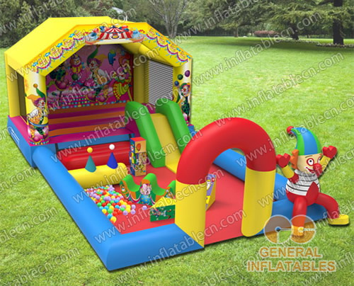 Circus indoor playland with softplay