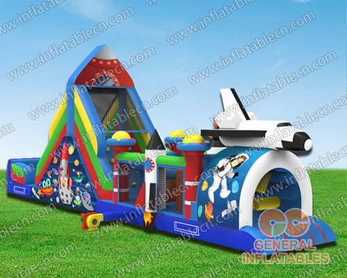 Space obstacle course