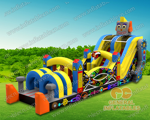 Robot Inflatable obstacle