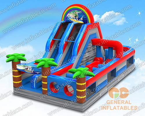 Surf obstacle course