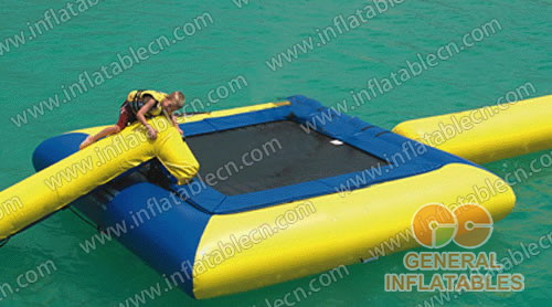 Inflatable Square Water Trampoline