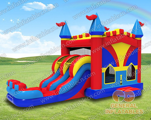 Backyard castle dual combo