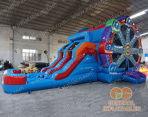 Ferris wheel inflatable dual combo