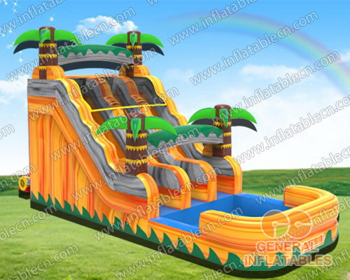 Lava Escape water slide