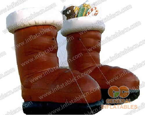Xmas inflatable Boots