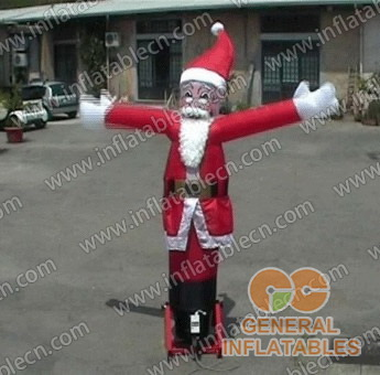 Xmas Father Inflatable Airman