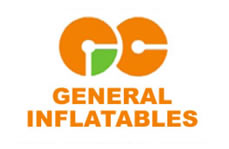 inflatable logo